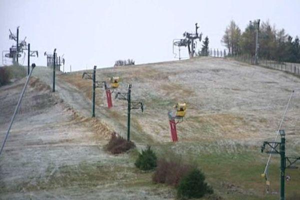 La station du Schnepfenried est l'un des plus grands domaines skiables d'Alsace.