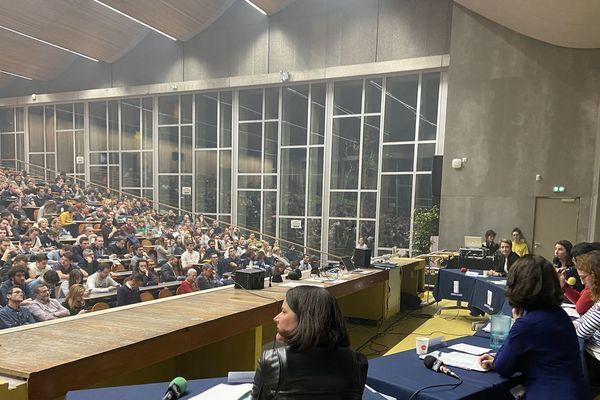 Municipales 2020 Les cinq candidates à la mairie de Nantes débattent à l'Université, le 4 février 2020