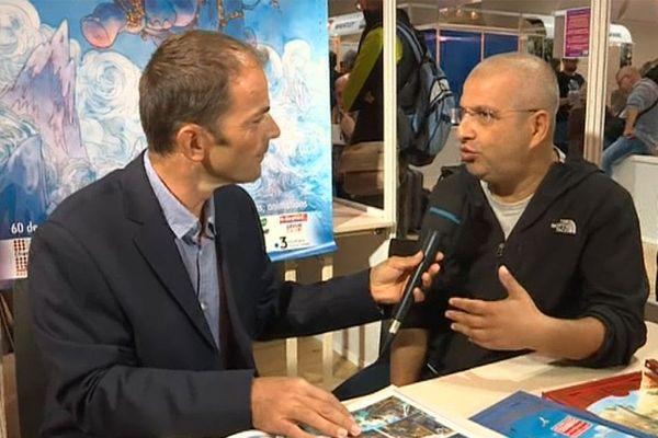 Sylvio Camboni, invité d'honneur du 42e festival Chambéry Savoie BD