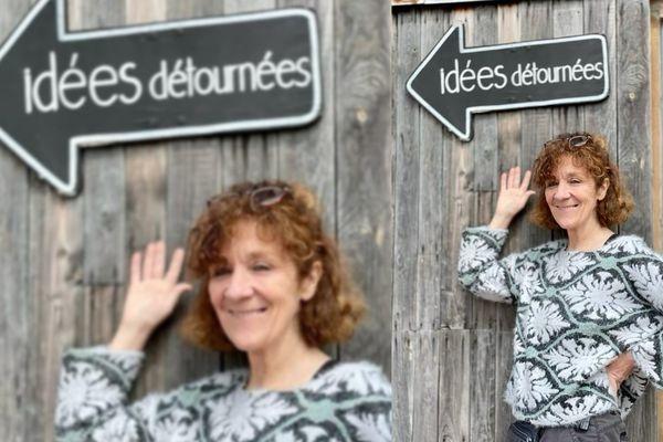 Nadine Thouvenin est à la tête de l'Association Idées Détournées depuis 15 ans.