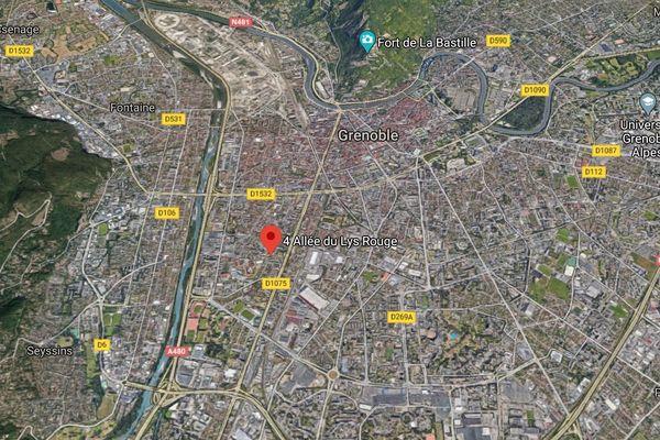Un incendie s'est déclaré dans un appartement à Grenoble ce jeudi.