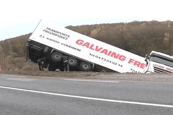 Accident impressionnant mais sans conséquence