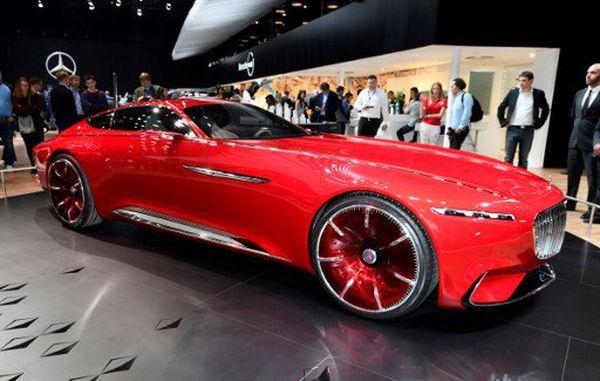 concept voiture électrique Mercedes - Mondial de l'auto Paris 2016