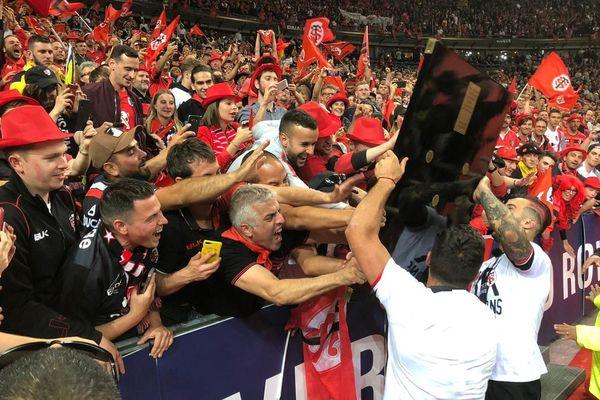 Le stade toulousain s'est imposé 24-18 face à Clermont en finale de Top 14 de rugby. Toulouse remporte le 20ème titre de son histoire.