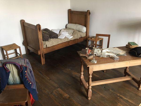 La chambre de Napoléon à Auxonne