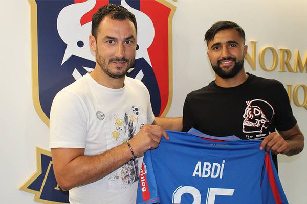 Ali Abdi arrive du Paris FC et s'est engagé pour deux saisons avec le Stade Malherbe de Caen