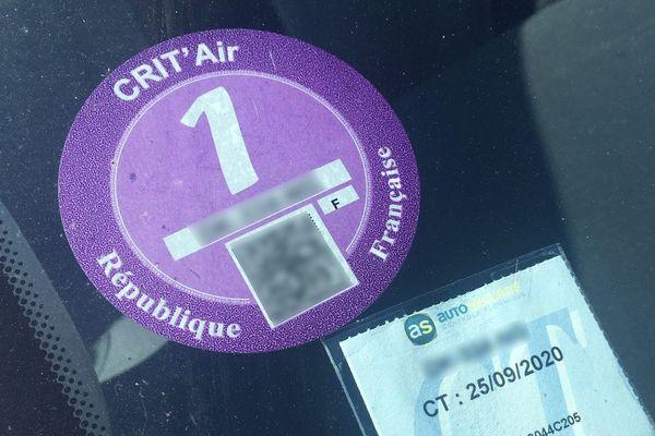 Seuls 10% des véhicules des Pays de la Loire sont équipés de la vignette Crit'Air