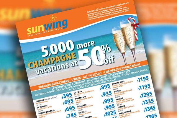 Mousseux à la place du champagne : l'erreur qui pourrait coûter cher à une compagne aérienne