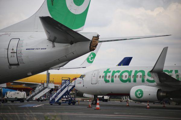 La crise du coronavirus a eu un impact sévère sur l'industrie aéronautique, pour lequel de nombreuses entreprises de Centre-Val de Loire font de la sous-traitance. Photo d'illustration