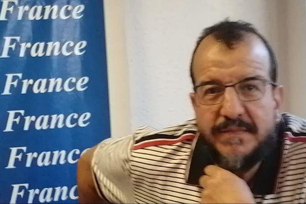 Abdelkader El Marraki, président de l'Union des musulmans de l'Hérault, inquiet de l'impact du boycott sur sa communauté.