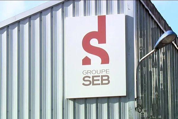 Le site du groupe SEB à Selongey, en Côte-d'Or