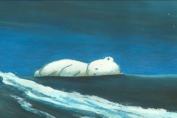 """""""Dans le ventre de l'ours"""" illustrations de Cécile Dalnoky"""