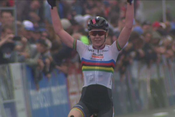 La championne du monde Anna Van der Breggen (Boels-Dolmans) s'impose dans le Grand Prix de Plouay - 31 août 2019