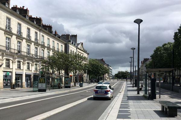 Nantes à l'heure du confinement au printemps 2020