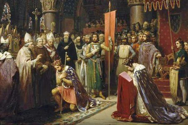 Lors de la deuxième croisade (1147-1149), Aliénor accompagne son époux Louis de France.