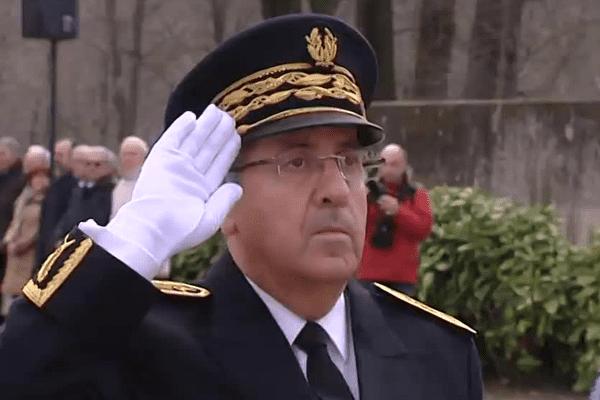 Michel Delpuech, lors de sa prise de fonctions officielle,mercredi à Lyon