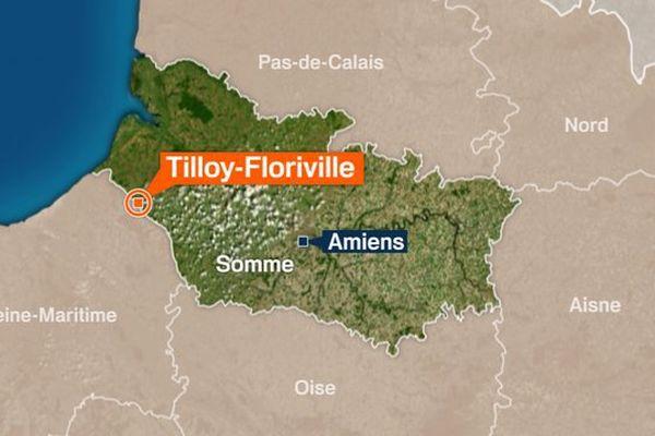 Les faits se sont produits à Tilloy-Floriville (Somme), près de Gamaches, à la frontière de la Haute-Normandie.