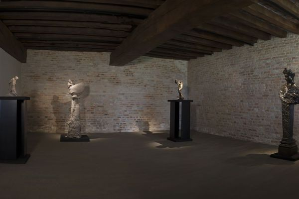 Exposition Rodin et Jeanclos à la galerie Capazza