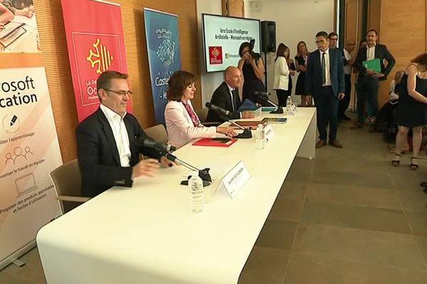La formation de Microsoft est lancée en partenariat avec la Région Occitanie et la ville de Castelnau-le-Lez - Juin 2018