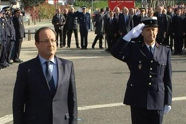 François Hollande à Chambéry le 12/10/2013