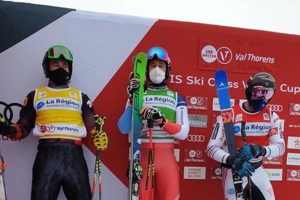 François place sur la 3ème marche du podium