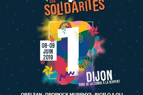Affiche du festival vyv les solidarités