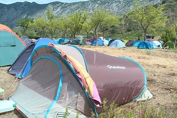 Le Camp a lieu jusqu'au 15 août.