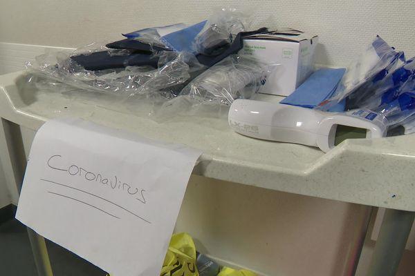 A l'hôpital de Brive, le dispositif est déjà prêt.