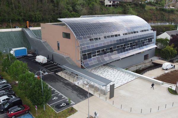Le site de la nouvelle bibliothèque universitaire de Tulle qui ouvre le 1er juin.