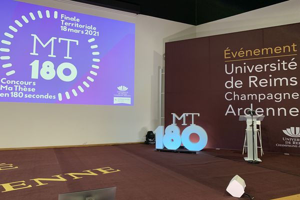 24 candidats vont tenter le concours Ma Thèse en 180 secondes à l'université de Reims Champagne-Ardenne.