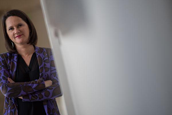 Johanna Rolland, la maire de Nantes, est en télétravail, photo d'illustration
