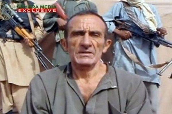 Capture d'écran : Daniel Larribe - le Gardois otage d'Aqmi au Sahel - archives