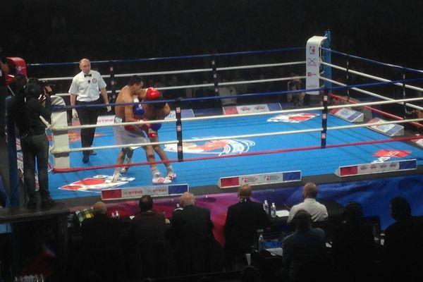 La rencontre se déroulait au Palais des Sports de Toulouse