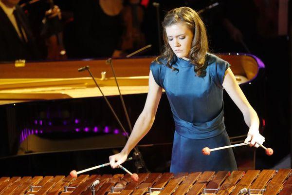 Adelaïde Ferrière lors des 24es Victoires de la musique classique mercredi 1er février 2017.