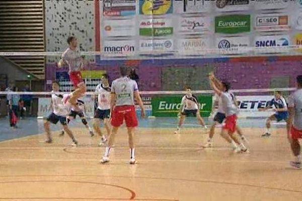 18/11/14 - Volley Ligue A / Coupe d'Europe,  Match retour GFC Ajaccio (France) / Brcko (Bosnie)