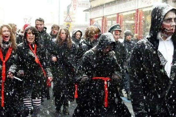 Les zombies sont dans les rues de Gérardmer
