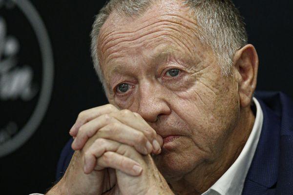 Jean Michel Aulas président de l'Olympique Lyonnais. Image d'illustration.