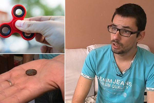 Florian, le père de Loëvann, veut que tout le monde prenne conscience de la dangerosité des piles au lithium