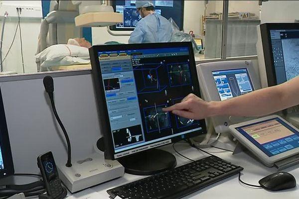 Salle de radiologie en 3D
