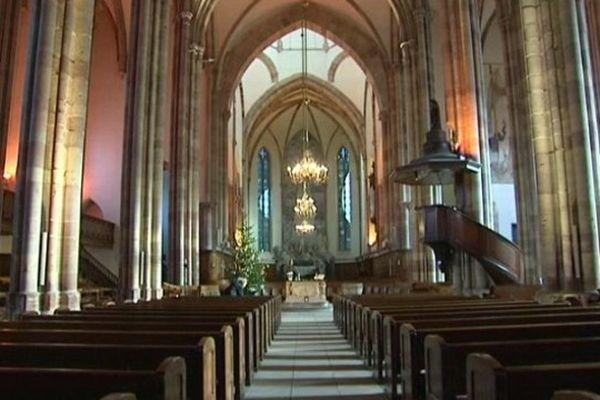 L'église protestante Saint-Thomas à Strasbourg