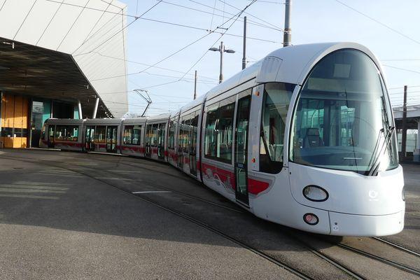 Alstom va produire 35 tramways comme celui-ci pour la ville de Lyon.