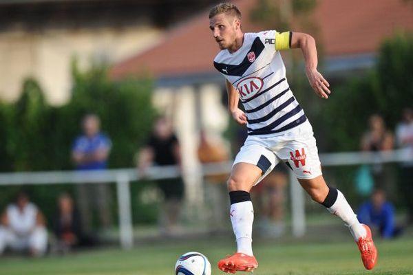 Grégory Sertic lors d'un match amical contre Guingamp en juillet.