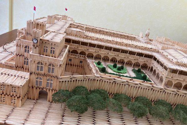 Le Palais est désormais terminé.