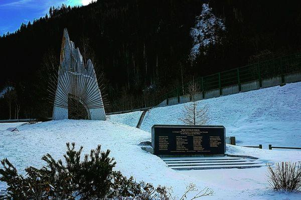 Le mémorial du Tunnel du Mont-blanc en hommage aux 39 victimes de la catastrophe du 24 mars 1999