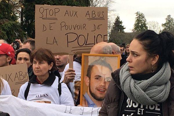 Manifestation en mémoire de Babacar Gueye