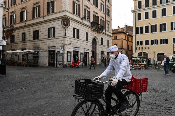 Rome, mardi 10 mars.