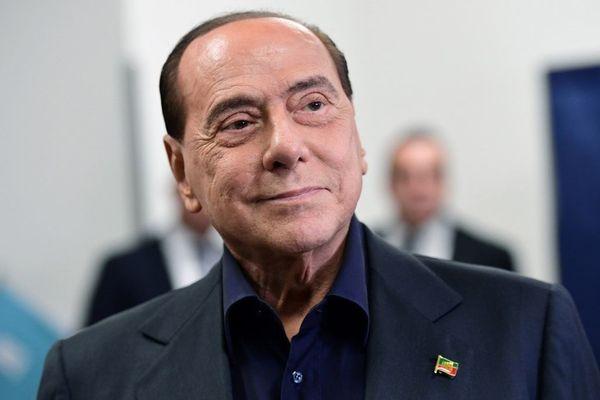 Silvio Berlusconi en mai 2019 à Milan.