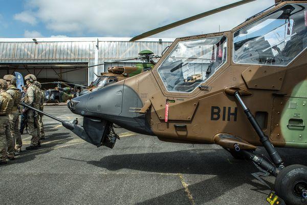 Le 5e régiment d'hélicopteres de combat à Pau