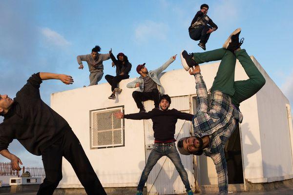 """La création """"Danser Casa"""" des chorégraphes et danseurs Hip Hop Kader Attou et Mourad Merzouki invités au festival Montpellier danse 2018."""