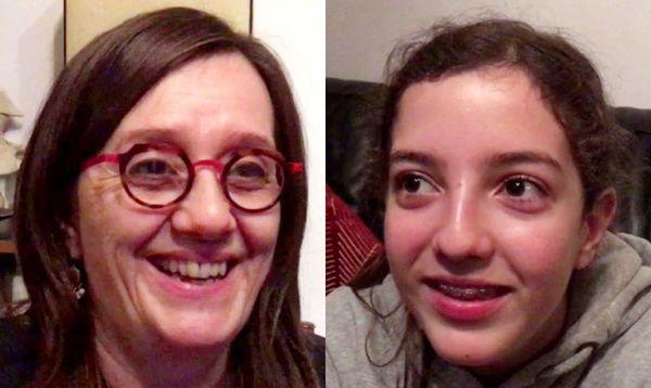 """Flore et Marie Delain ont vécu l'expérience """"Un livre un jour"""" en famille."""